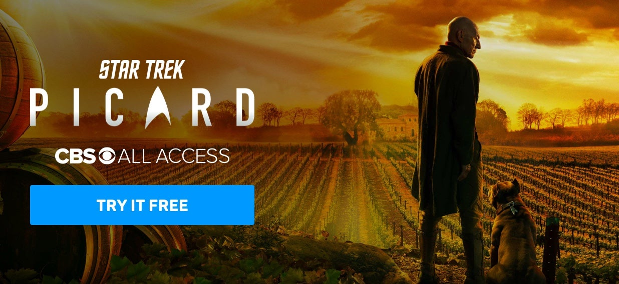 Star Trek: Picard All Access Try It Free