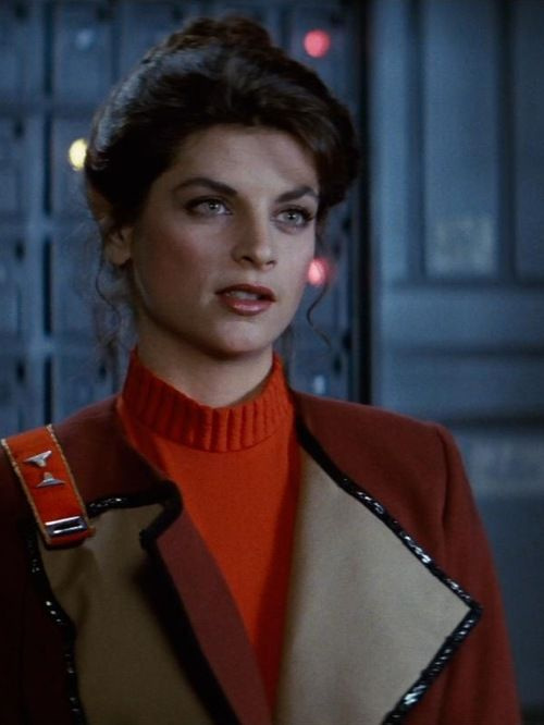 Lieutenant Saavik, played here by Kristie Alley
