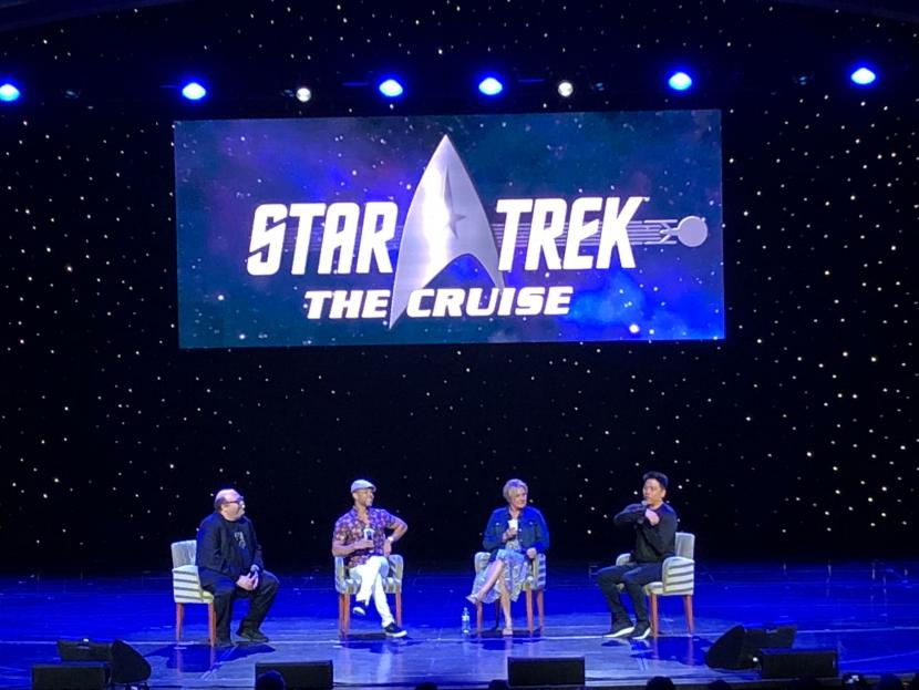 Wilson Cruz, Denise Crosby, and Garrett Wang talk coming back from the dead on a panel
