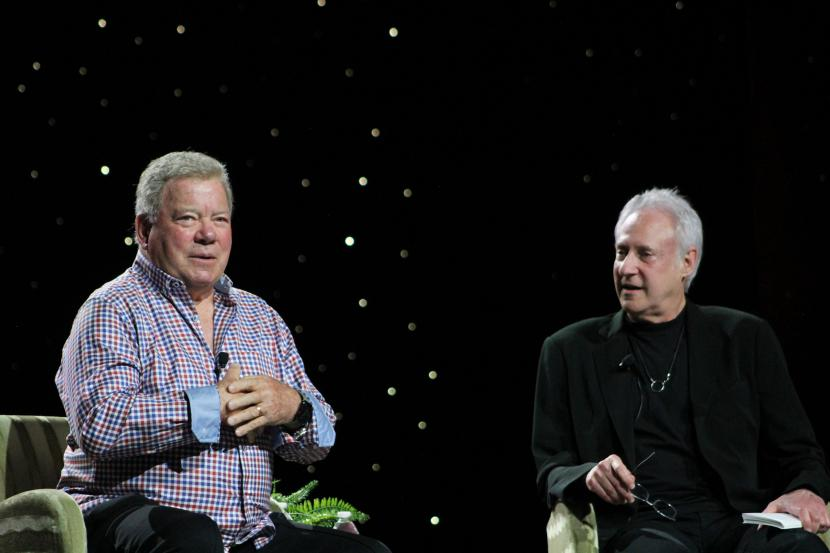 William Shatner talks to Brent Spiner about his career in a Trek-themed Inside the Actor's Studio