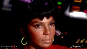 "Uhura, Nichelle Nichols ""Woman in Motion"""