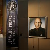 Picard's gallery made its way from SDCC to STLV