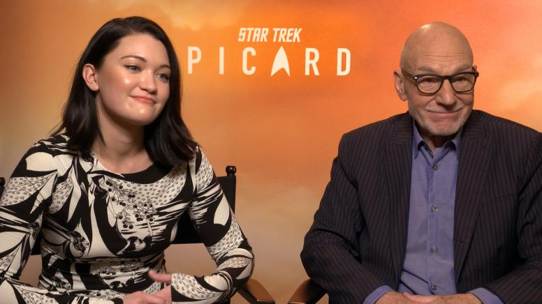 Star Trek: Picard Cast Read and Answer Fan Questions