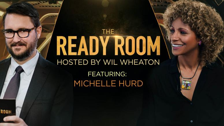 Michelle Hurd heads to The Ready Room
