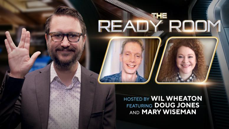 The Ready Room: Doug Jones and Mary Wiseman
