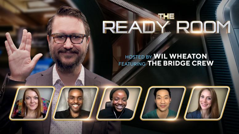 The Ready Room with Star Trek: Discovery's Bridge Crew
