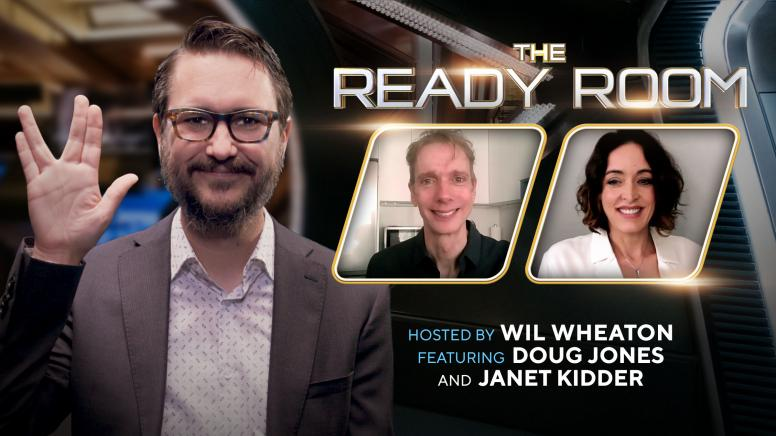 Doug Jones and Janet Kidder Head to The Ready Room