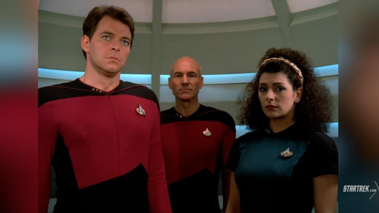 "Star Trek: The Next Generation - ""Encounter at Farpoint"""